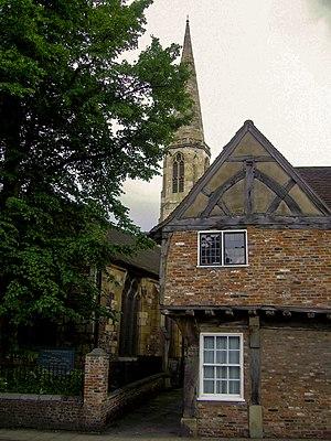 John Snow -  All Saints, North Street, York