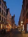Altstadt Mainz Augustinerstraße Abend.jpg