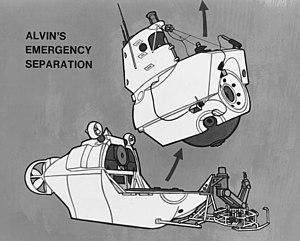 DSV Alvin - Emergency separation