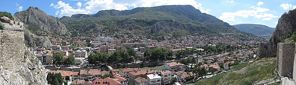 Panorama of Amasya