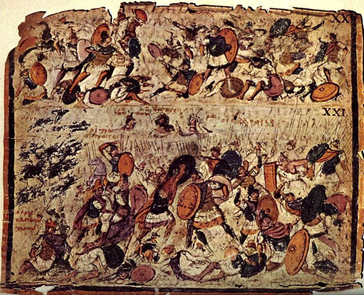 File:AmbrosianIliadPict20and21BattleScenes.jpg