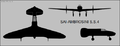 Ambrosini SS.4 three-view silhouette.png