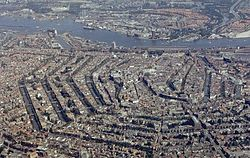 Amsterdam airphoto