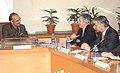 An American delegation led by the Under Secretary for Political Affairs, USA, Mr. William J. Burns called on the Union Minister for Health and Family Welfare, Shri Ghulam Nabi Azad, in New Delhi on October15, 2009.jpg