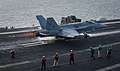 An F A-18C Hornet launches from USS Theodore Roosevelt (CVN 71). (39845205212).jpg