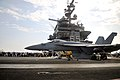 An F A-18E Super Hornet launches from the USS Enterprise. (5941207312).jpg