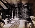 An eighteenth-century apothecary's shop with intricately car Wellcome V0029787.jpg