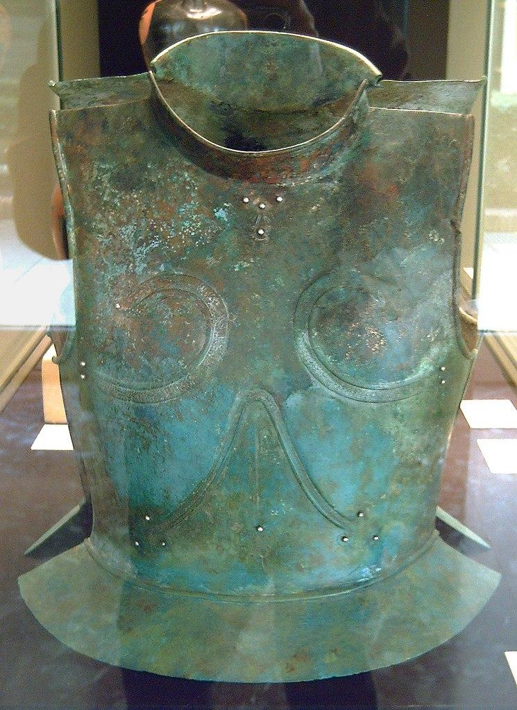 Ancient Greek bronze cuirass