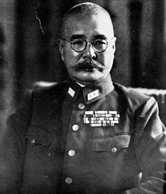 Rikichi Andō - Japanese General Andō Rikichi in 1940