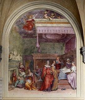 <i>Nativity of the Virgin</i> (del Sarto)