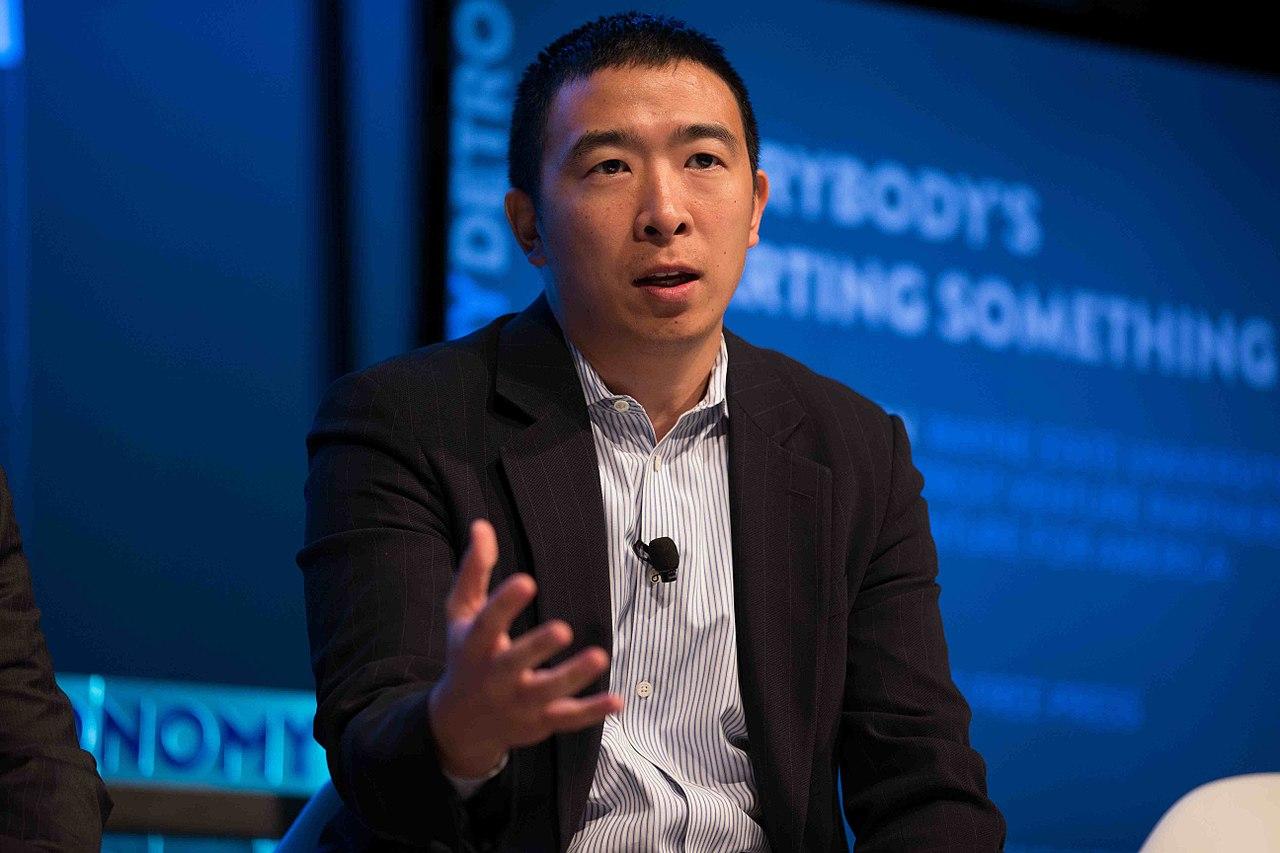 File:Andrew Yang talking about urban entrepreneurship at ... Andrew Yang