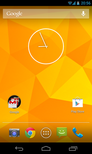 Android Jelly Bean - Image: Android 4.2 on the Nexus 4