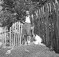 Anica Komac, učiteljica 5. razreda osnovne šole, Trenta 1952.jpg