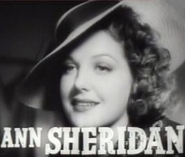Sheridan in de film Cowboy from Brooklyn (1938)
