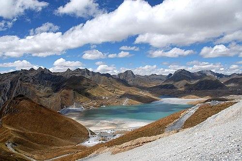 Antamina Mine Tailings Pond, Peru
