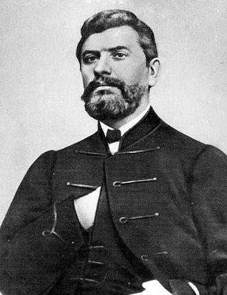 Croatian nationalism - Ante Starčević, nicknamed Father of the Nation, considered to be father of Croatian nationalism