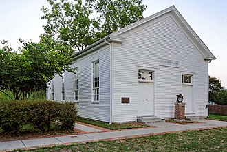 National Register of Historic Places listings in Clay County, Missouri - Image: Antioch Community Church Clay County, MO DSC 3841 Dx O