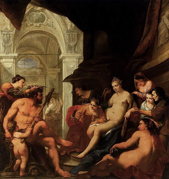 File:Antonio Bellucci - Hercules in the Palace of Omphale - WGA01847.jpg