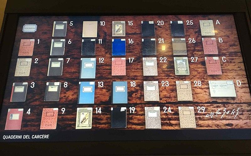 Cuadernos de la cárcel, una de las obras cumbre de Antonio Gramsci