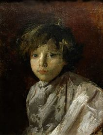 A Portrait of the Artist's Father - Antonio Mancini - WikiArt.org
