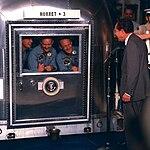 Apollo 11 crew in quarantine.jpg