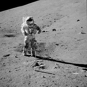 Apollo 17 picture of Cernan on the moon near station 2AS17-138-21069HR.jpg