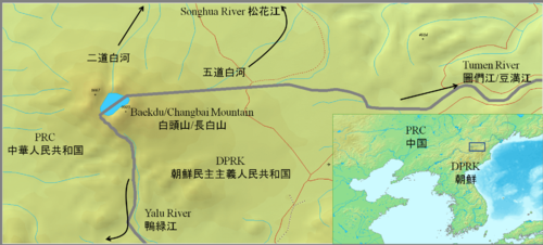 Apprx. PRC-DPRK border around Baekdu-Changbai Mountain.PNG
