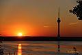 Apus de soare pe lacul Techirghiol.jpg