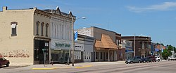Downtown Arapahoe: west side of Nebraska Street