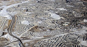 Crowchild Trail - Image: Arbor Lake Aerial