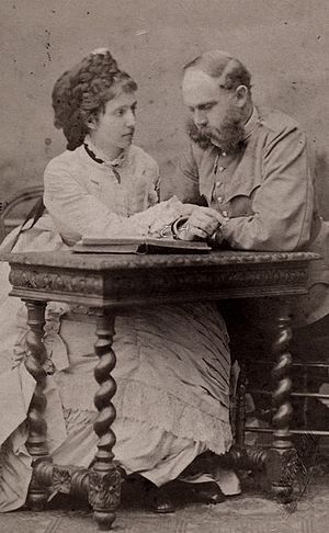 Archduke Karl Ludwig of Austria - Karl Ludwig and his third wife Maria Teresa of Portugal