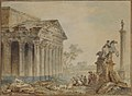 Architectural Capriccio with Roman Monuments and Washerwomen MET 59.23.69.jpg
