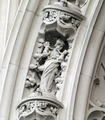 Architectural details, the Woolworth Building, New York, New York LCCN2013650682.tif