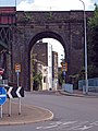 Archway to Magpie Hall Road, Chatham, Kent - geograph.org.uk - 891415.jpg