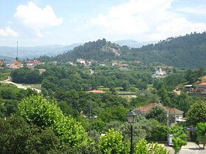 Arcos de Valdevez - The green hilltops in the municipality of Arcos de Valdevez, within the civil parish of Salvador