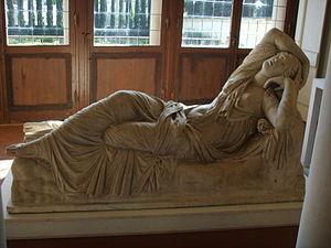 Epyllion - Image: Arianna dormiente, copia romana da originale greco degli inizi del II sec ac 01