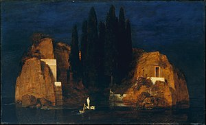 "Isle of the Dead (painting) - Isle of the Dead: ""New York"" version, 1880"