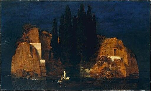 """Isle of the Dead"" by Arnold Böcklin"