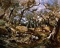Artgate Fondazione Cariplo - Mariani Pompeo, Ulivi a Bordighera o La raccolta delle olive a Bordighera.jpg