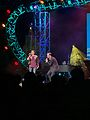 Ashley Brown and Josh Strickland at Epcot's Arts Festival (32279499072).jpg