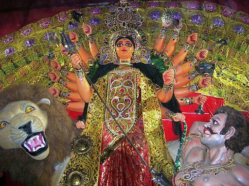 Ashtadashbhuja Mahishasuramardini Behala Srisangha Arnab Dutta 2011