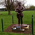 Assevillers (Somme), monument à Cecil Healy 02.jpg
