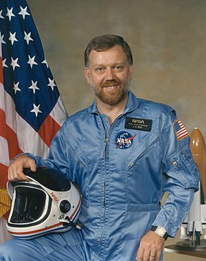 Astronaut Paul D. Scully-Power