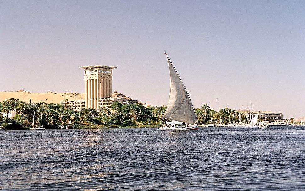 Aswan, Elephantine, felucca, Egypt, Oct 2004