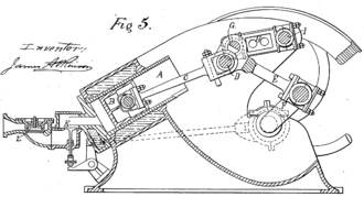James Atkinson (inventor) - Atkinson Gas Engine as shown in US Patent 367496