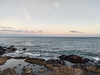 Lanzarote - Atlantic Ocean at Los Picollos, Lanzarote