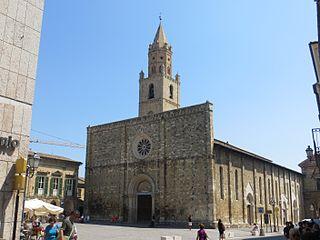 church in Atri (TE), Italy