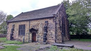 Attercliffe Chapel - The chapel, seen from the south