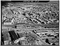 Attleboro station and viaduct aerial, April 1977.jpg