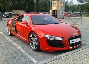 Audi R8 википедия